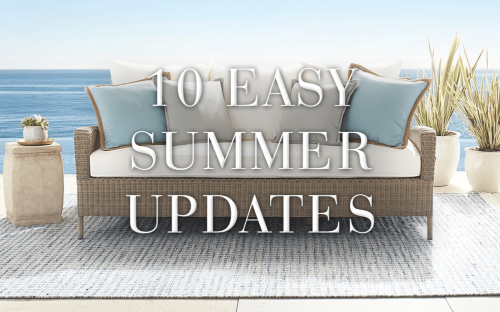 POTTERY BARN BLOG POST - JUNE 2017