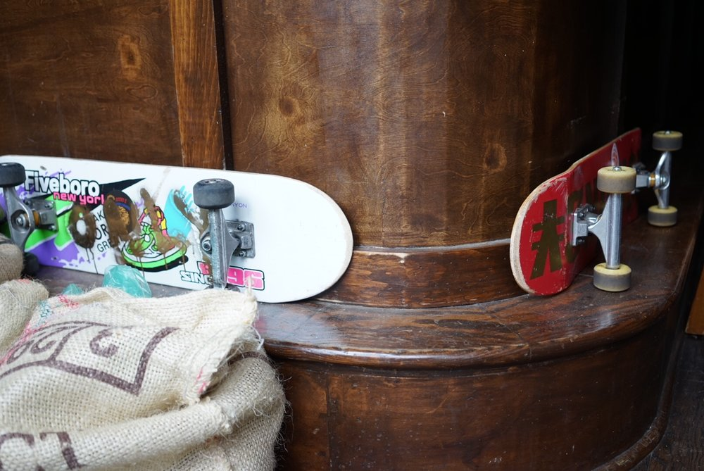 Skateboards-Round-K-Cafe.JPG