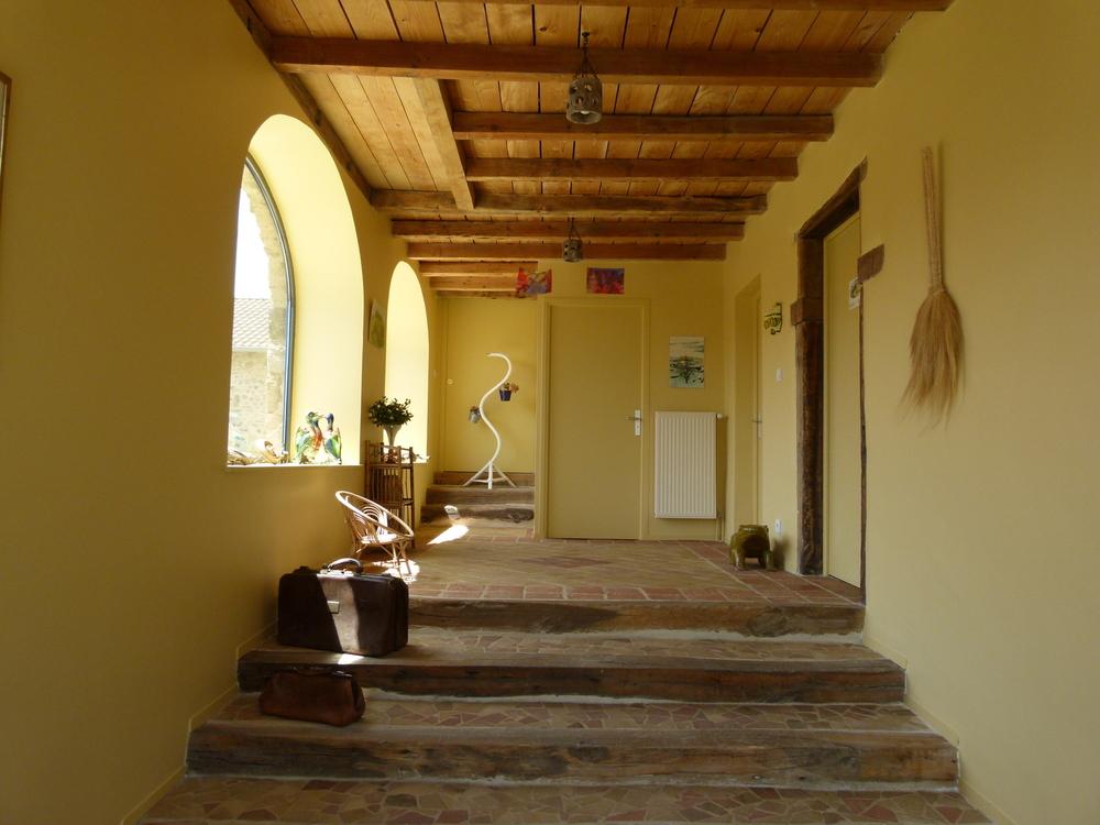 Chambres d'hôte - the entrance hall