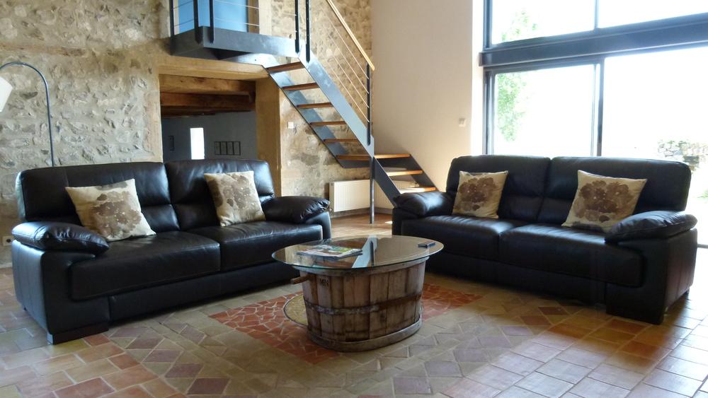 La Roche - the sitting area
