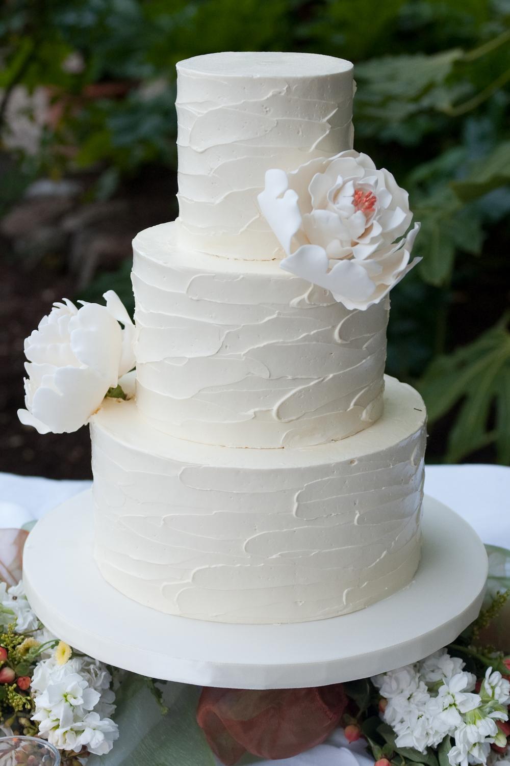 Organic Buttercream Wedding Cakes — Patisserie Angelica