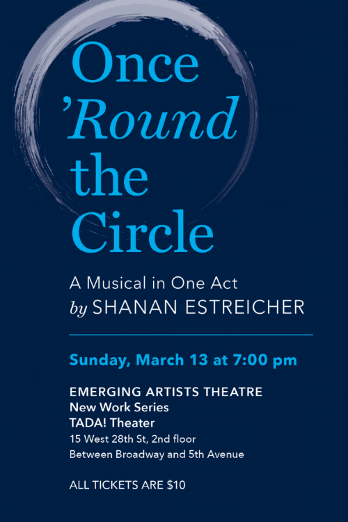 Once Round the Circle Invitation