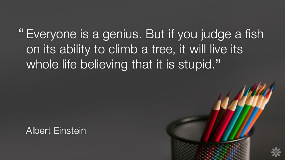 Einstein-Genius-Quote
