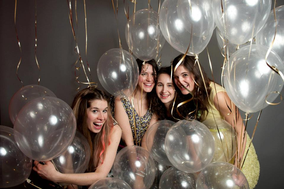 I'm still in love with pictures from Peter Tung's balloon photobooth from 2012's TxSC.