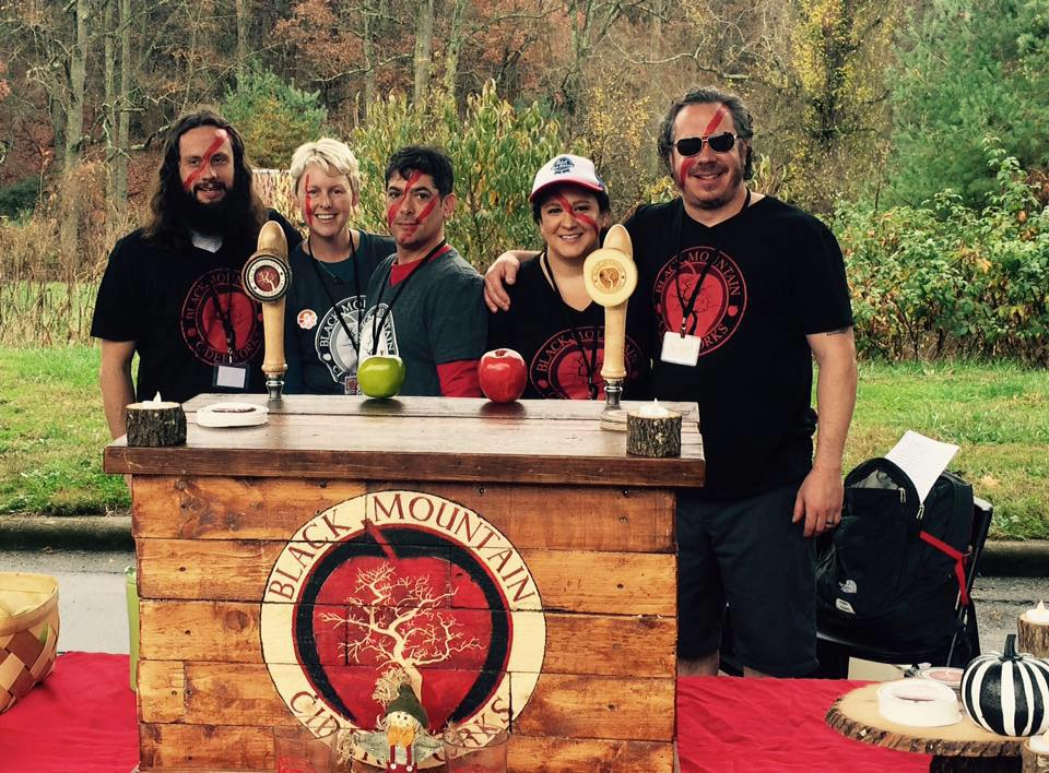 Cider friends at CiderFest in Asheville, NC