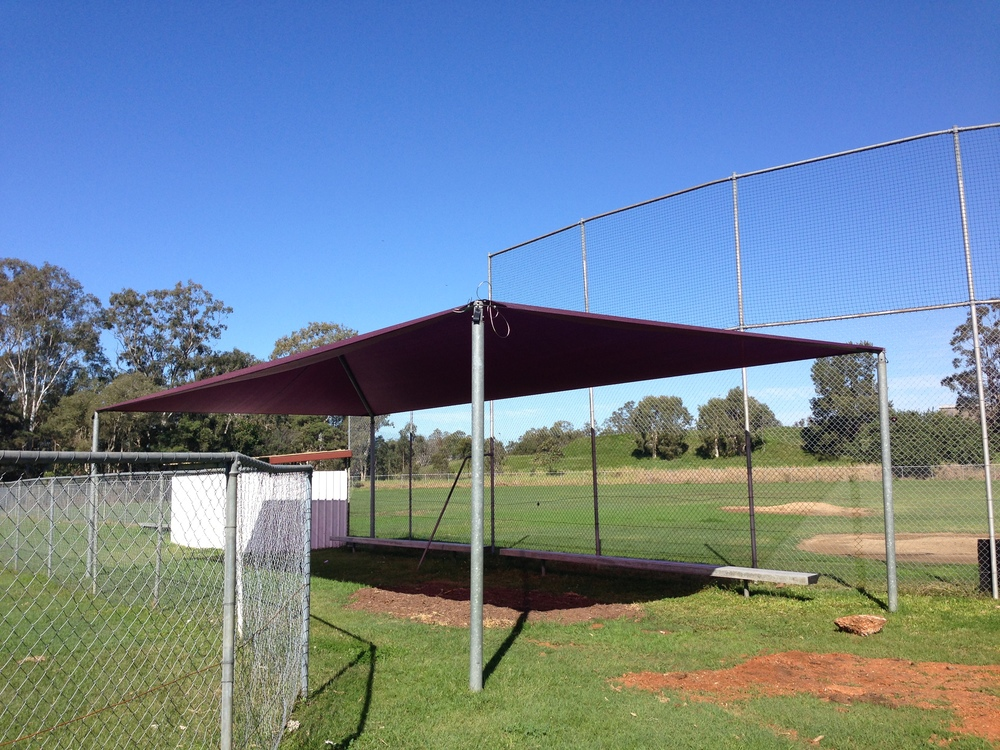 New dark red / maroon shade structures