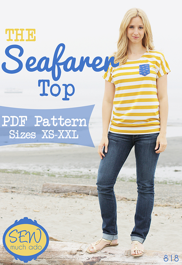 Seafarer Top by Sew Much Ado
