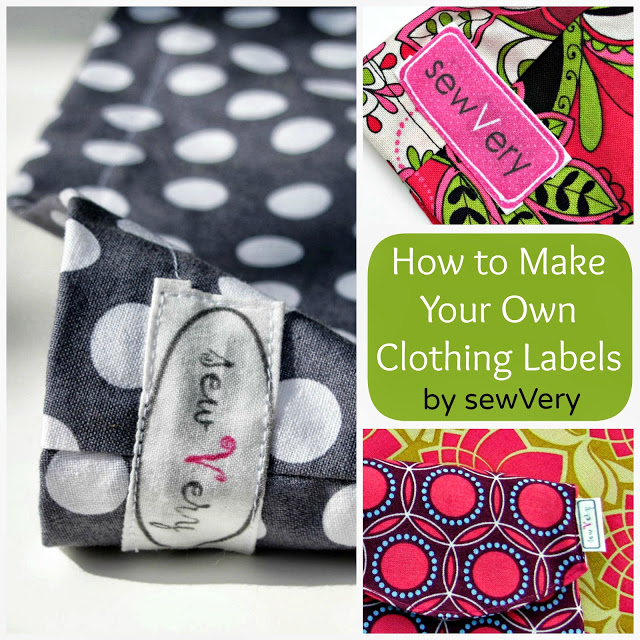 Veronica of Sew Very Teaches us to make Labels with Spoonflower