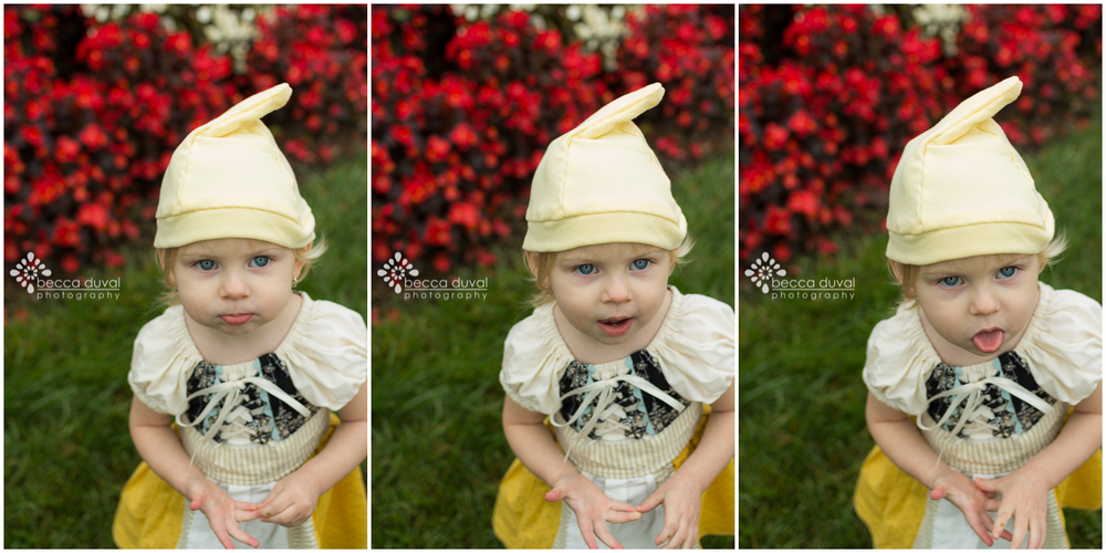 The many faces of my Gnome-girl. Love 'er to bits!