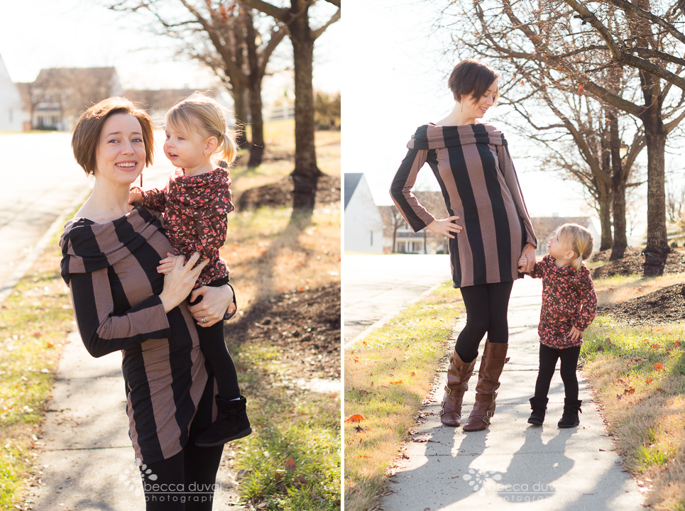 Overall, we're loving our mommy-daughter tunics!