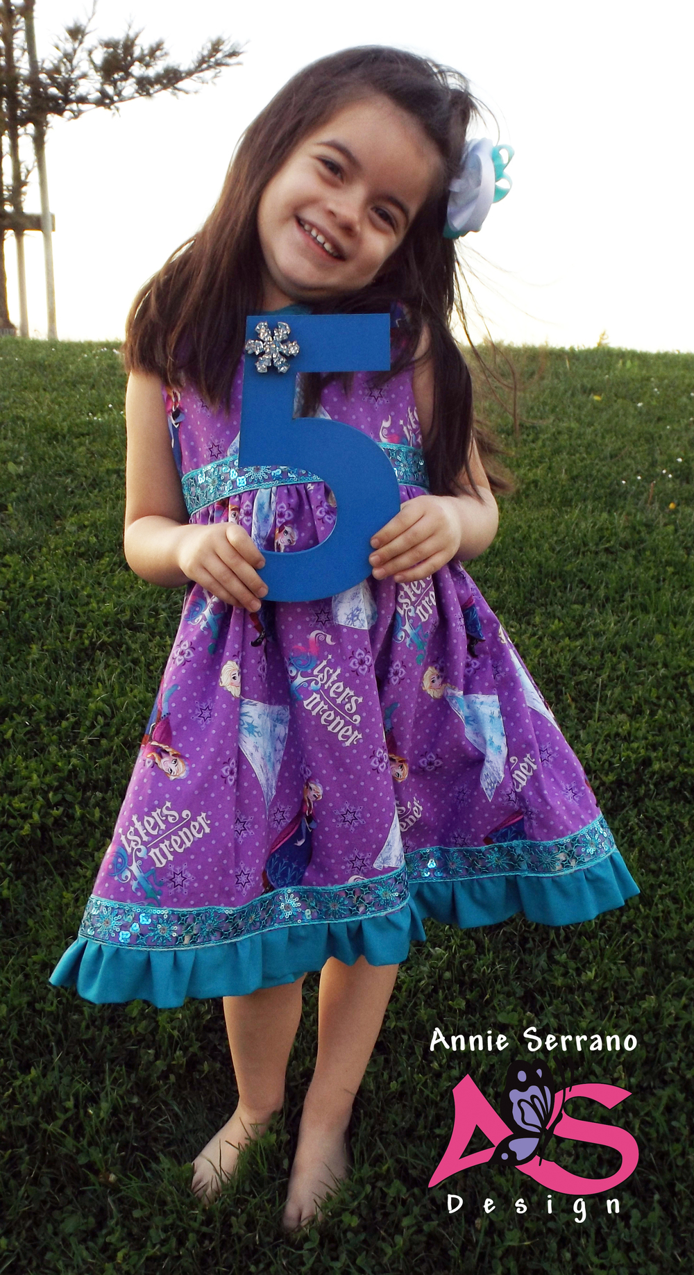 Annie Serrano Sweet Dress by The Cottage Mama from Sew Classic Clothes for Girls Book
