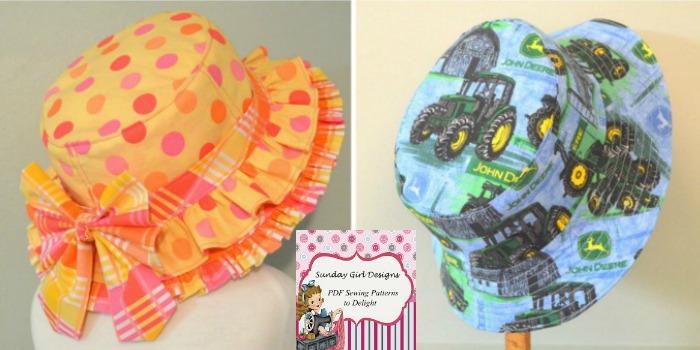 The Reversible Bucket Hat by Sunday Girl Designs — Pattern Revolution fe75c66e15c