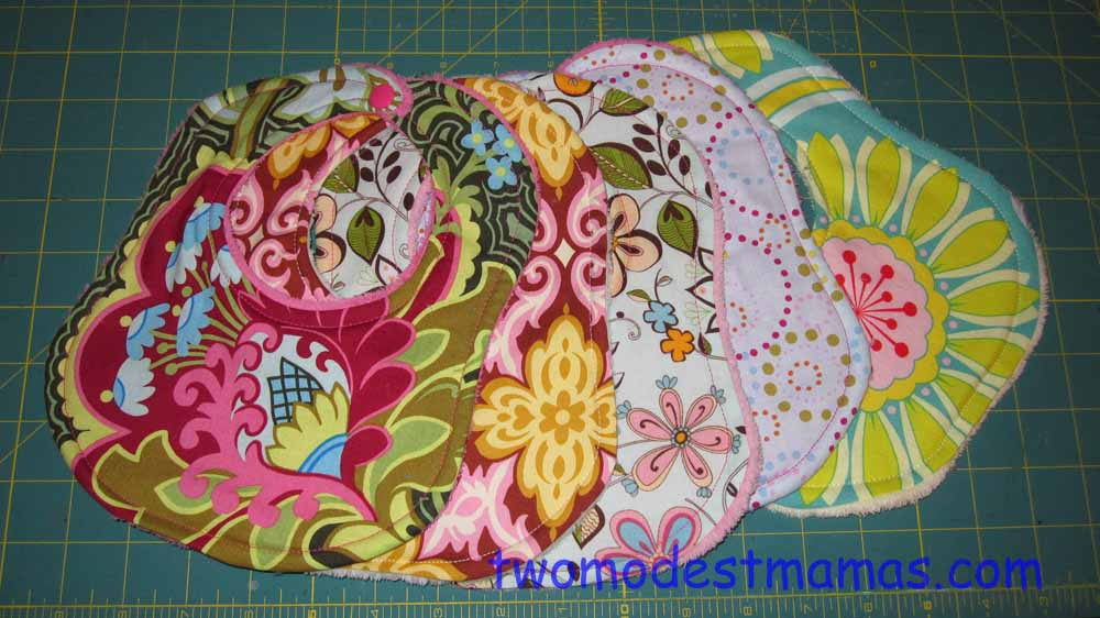 My best selling drooler bibs (I don't sell anymore)