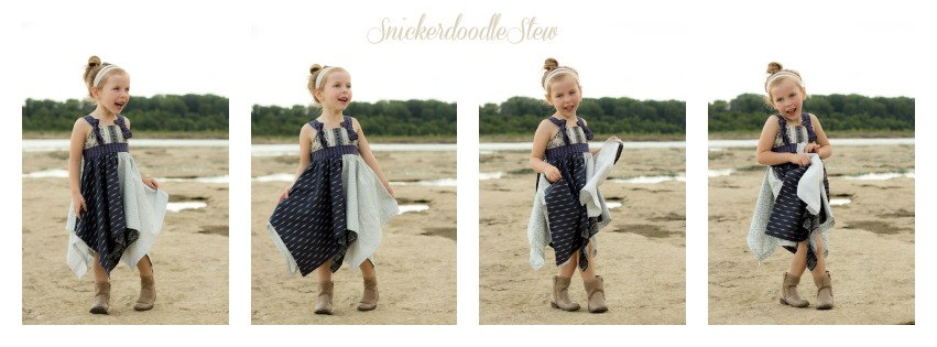 Parson Gray Inspired Handkerchief Dress- Pattern Revolution