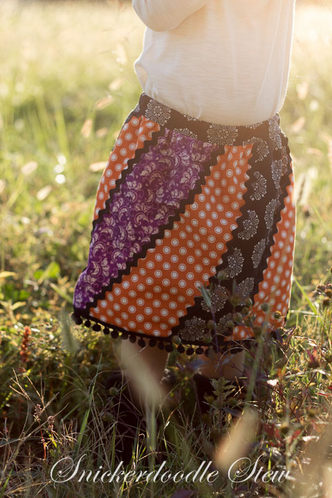 Lollipop Swirl Skirt by My Treasured Heirlooms- Pattern Revolution