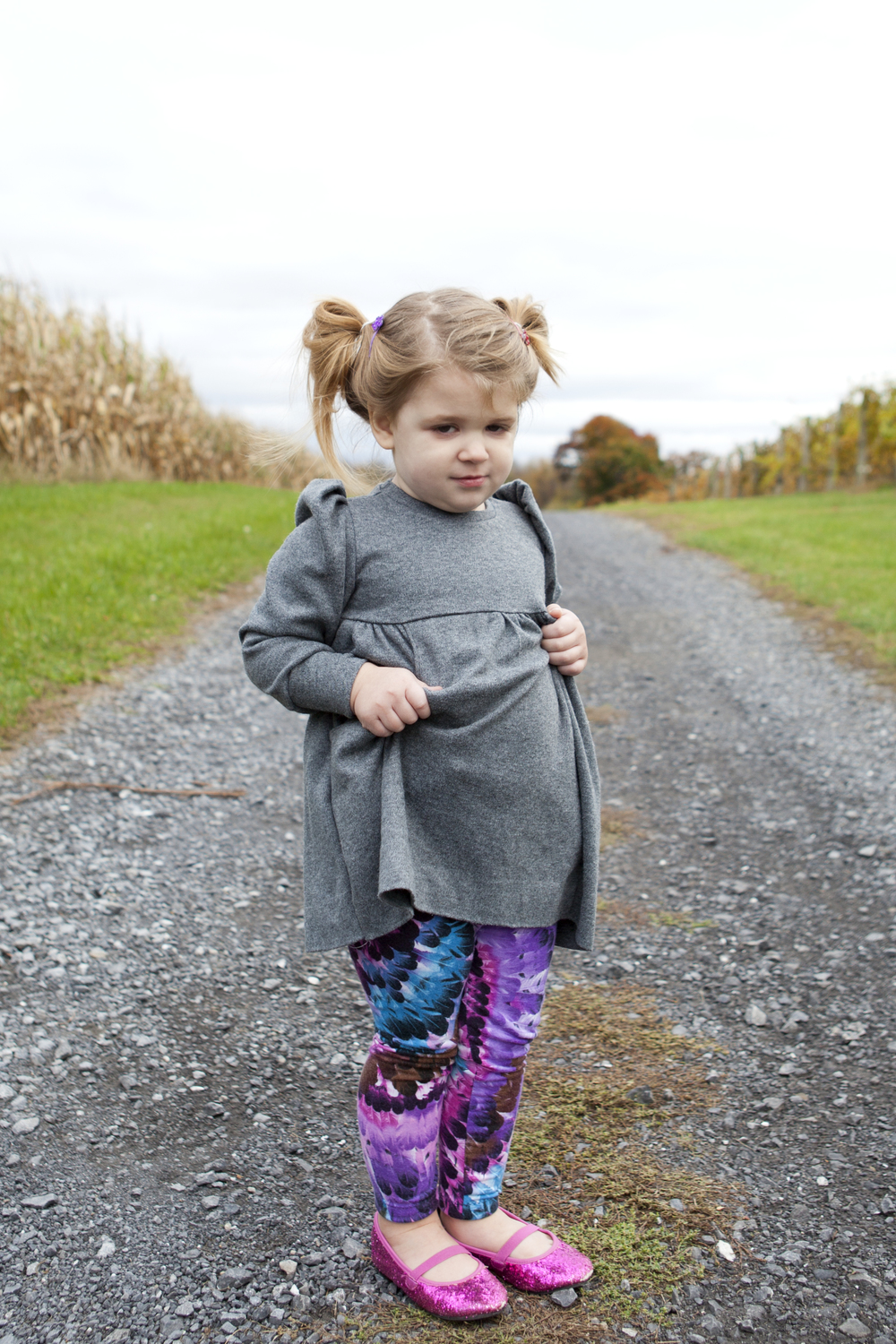 Feather Leggings - Fabric from  Girl Charlee
