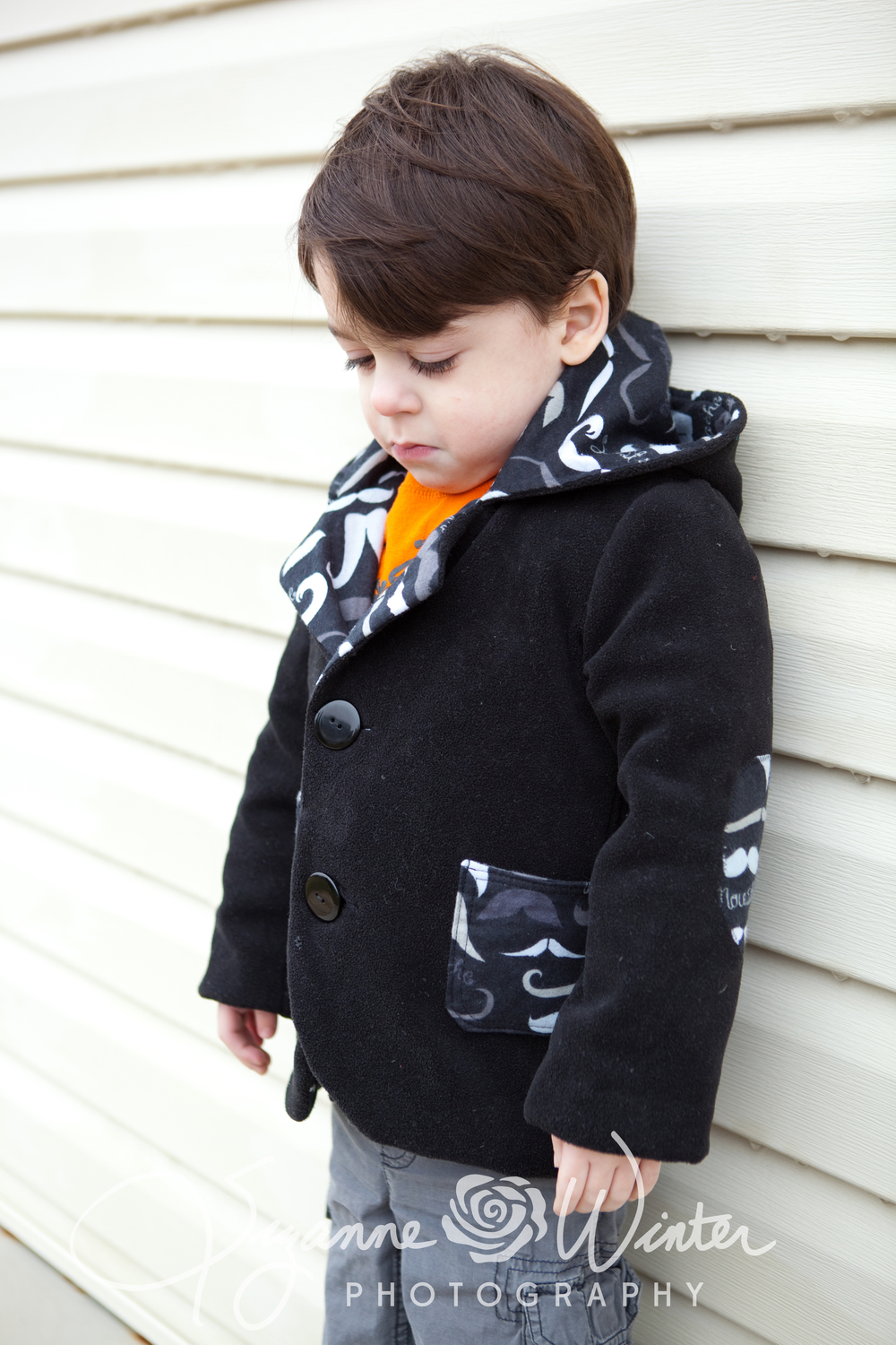 My Little Plumcake Hooded Blazer