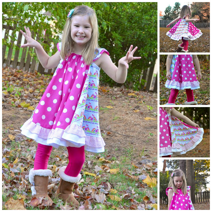 Swing Dress by The Handmaiden's Cottage- Pattern Revolution