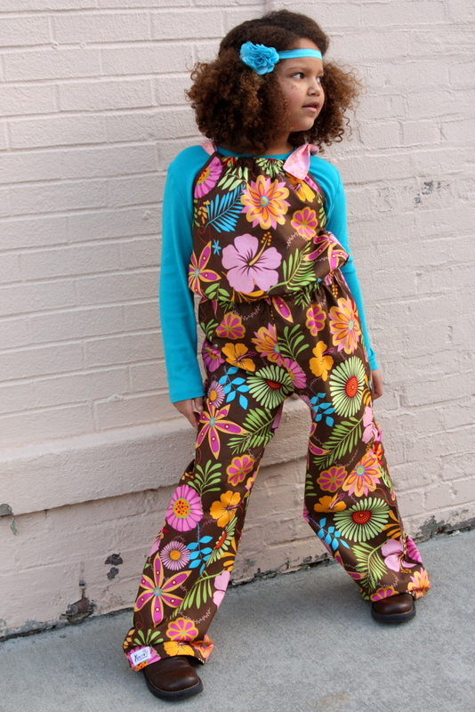 Flutterby Romper by Little Kiwi's Closet- Pattern Revolution