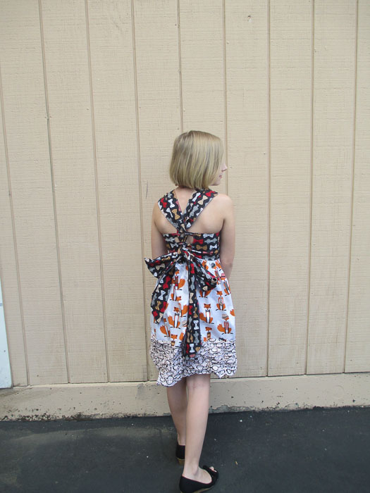 XOXO Dress by Mandy K Designs- Pattern Revolution