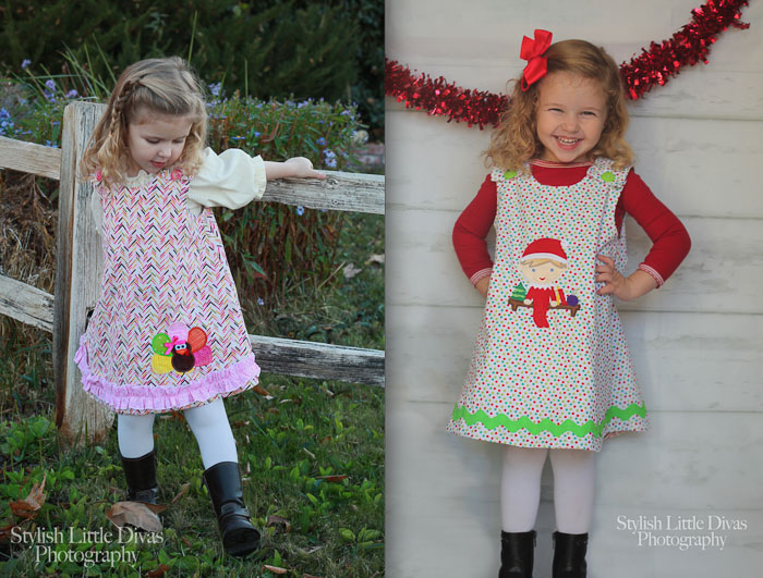 Reversible A-line Jumper from Ola Jane Patterns- Pattern Revolution