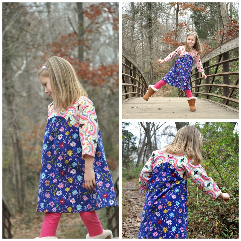 Gingersnap Dress or Tunic by MCM Studio Designs- Pattern Revolution