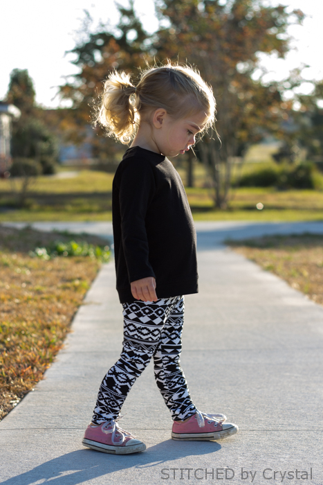 Beach to School Knit Bottoms by The Plucky Butterfly- Pattern Revolution