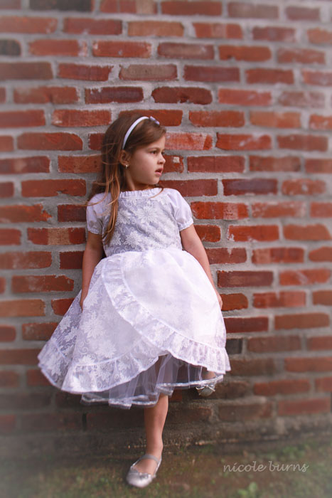 Sweet Innocence Dress by My Treasured Heirlooms- Pattern Revolution