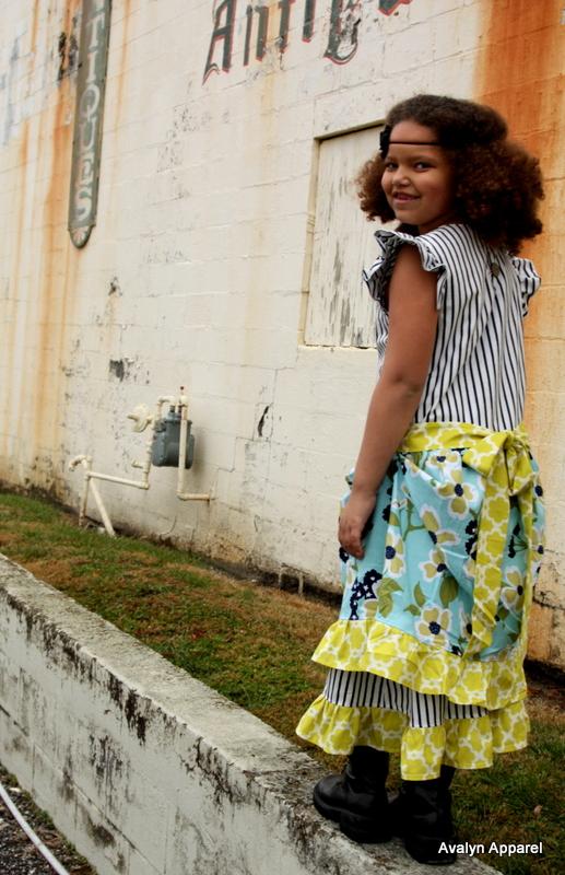 Treasured Dress Pattern by Lilac Lane Patterns