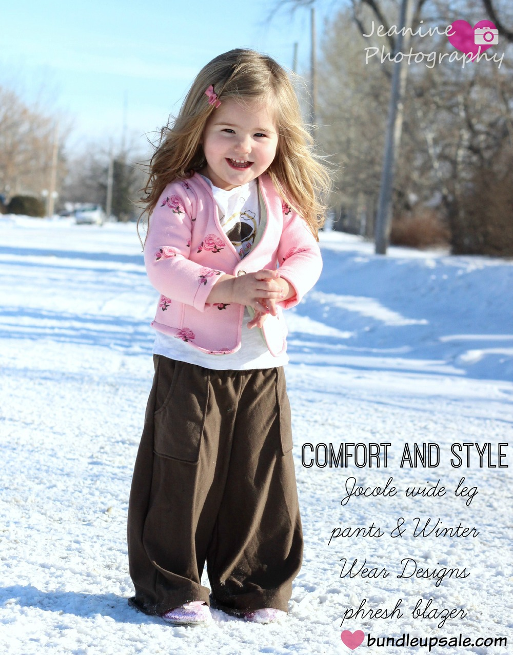 Girl's Wideleg Pants by Jocole — Pattern Revolution
