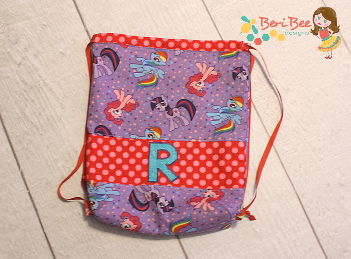 The Swim Bag from Two Pretty Poppets-Pattern Revolution