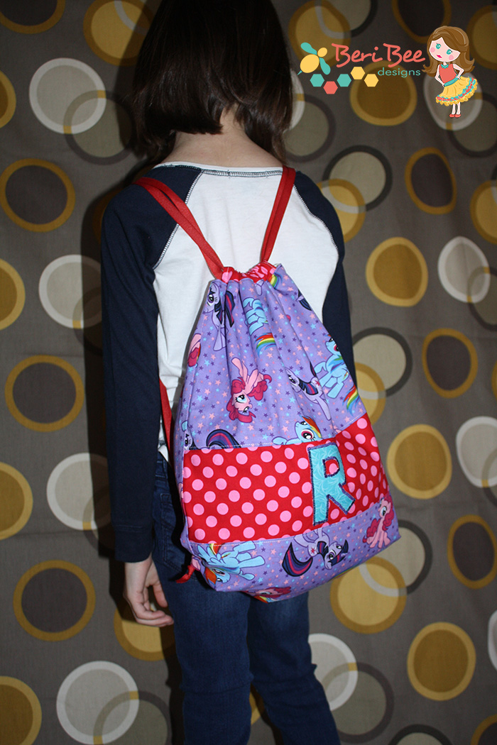 The Swim Bag from Two Pretty Poppets-  Pattern Revolution