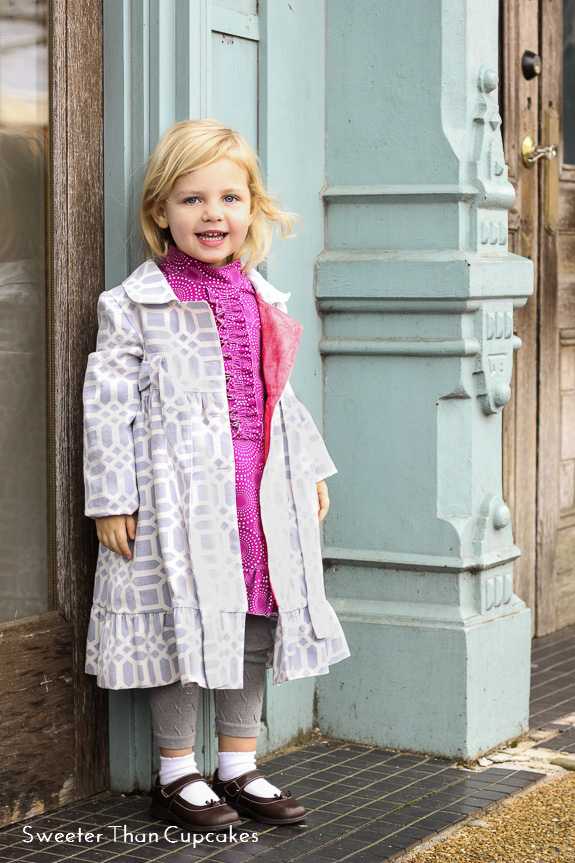 Rachel Dress and Penny Coat