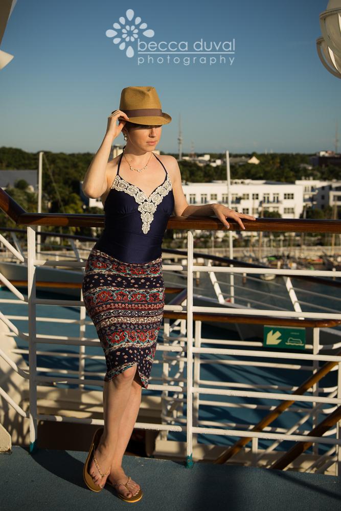 Jalie One Piece Swimsuit + LLK Petal Perfect Skirt