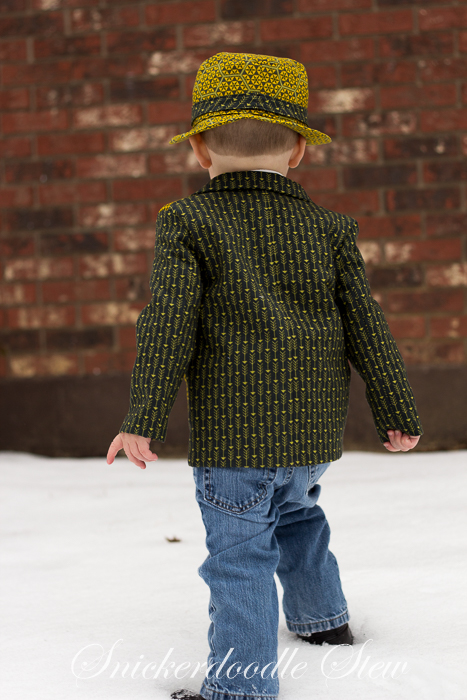 Boy's MashUP- Vest + Jacket = One Dapper Dude- Pattern Revolution
