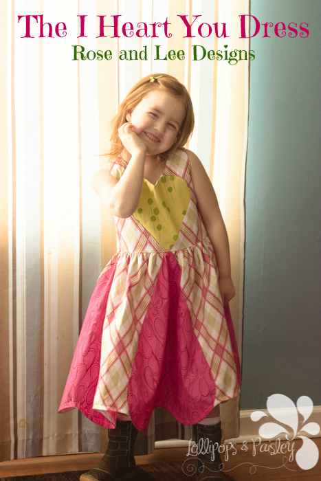 I Heart You Dress by Rose and Lee Designs- Pattern Revolution