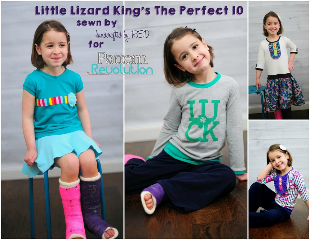 Perfect Ten by Little Lizard King- Pattern Revolution