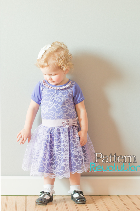 Phoebe's Drop Waist Dress by Simple Life Pattern Company- Pattern Revolution