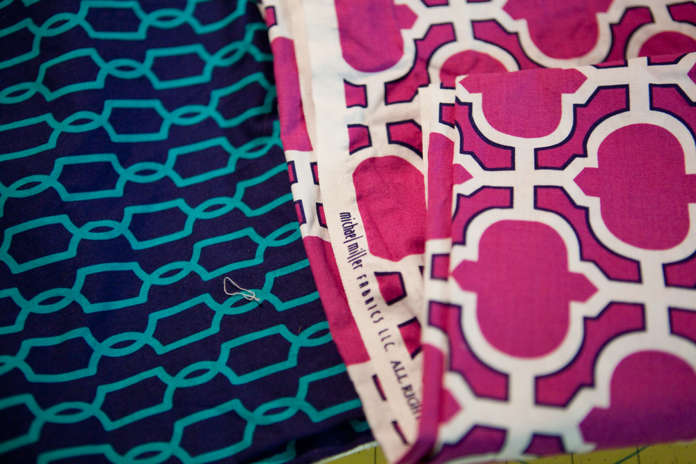 So in love with these vibrant  Mich  ael Miller Prints