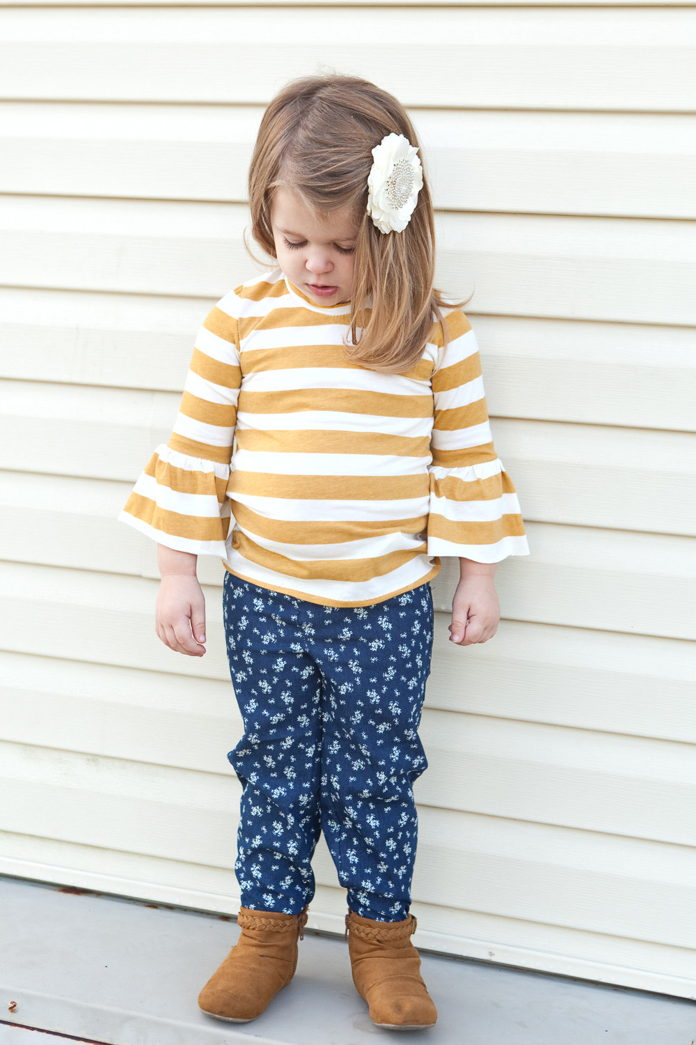 GC Mustard Stripe Knit