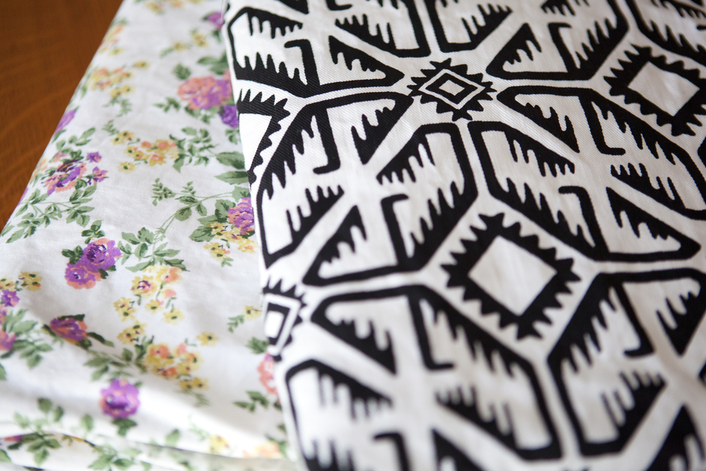I am so in love with both of these great spring/summer prints, I will be ordering some of the dark denim soon too!