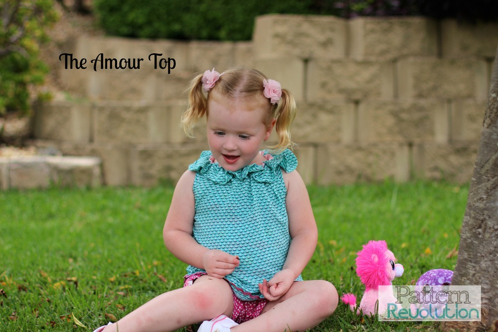 Amour Top by Filles a Maman- Pattern Revolution