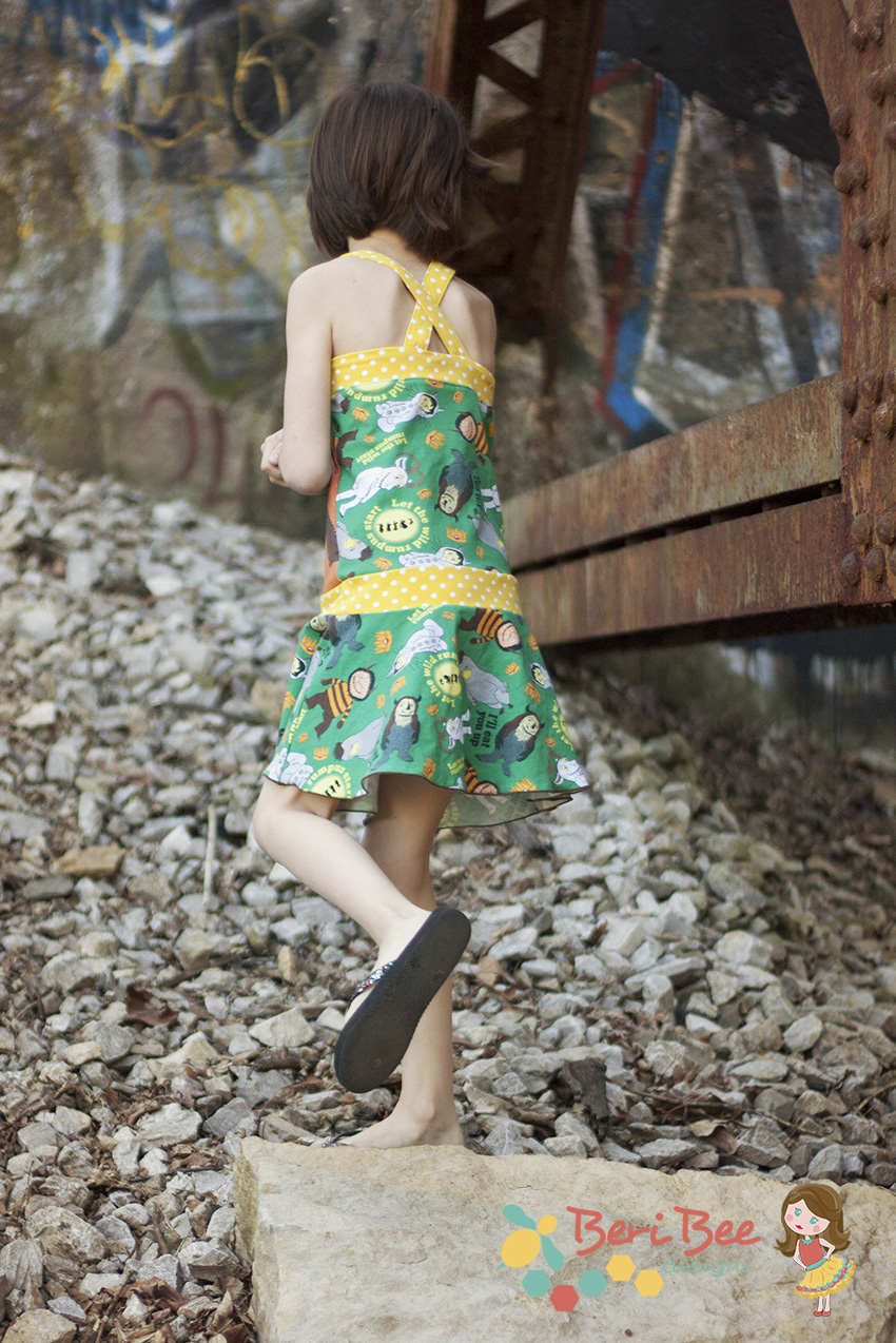 Tybee Tank Top and Dress by LilyGiggle- Pattern Revolution