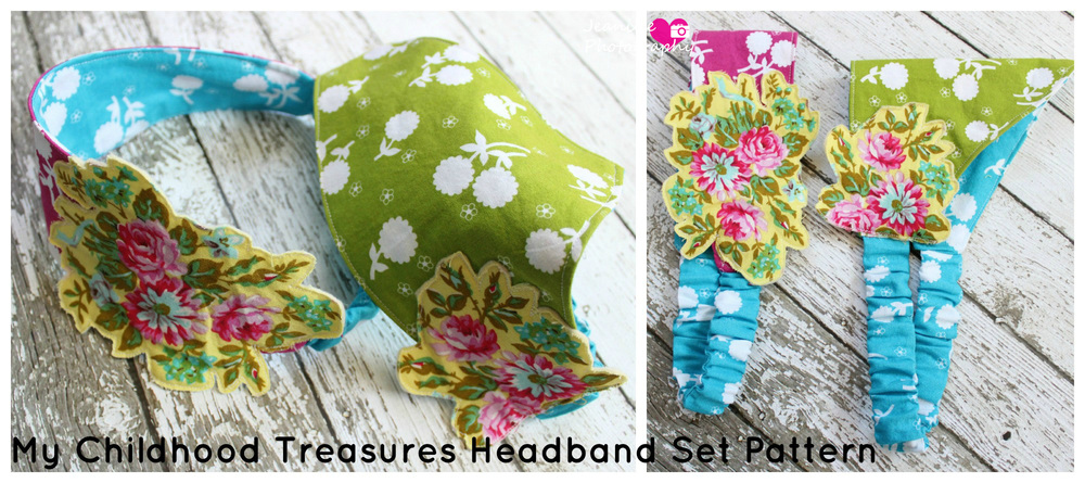 Retro Headbands Pattern from My Childhood Treasures- Pattern Revolution
