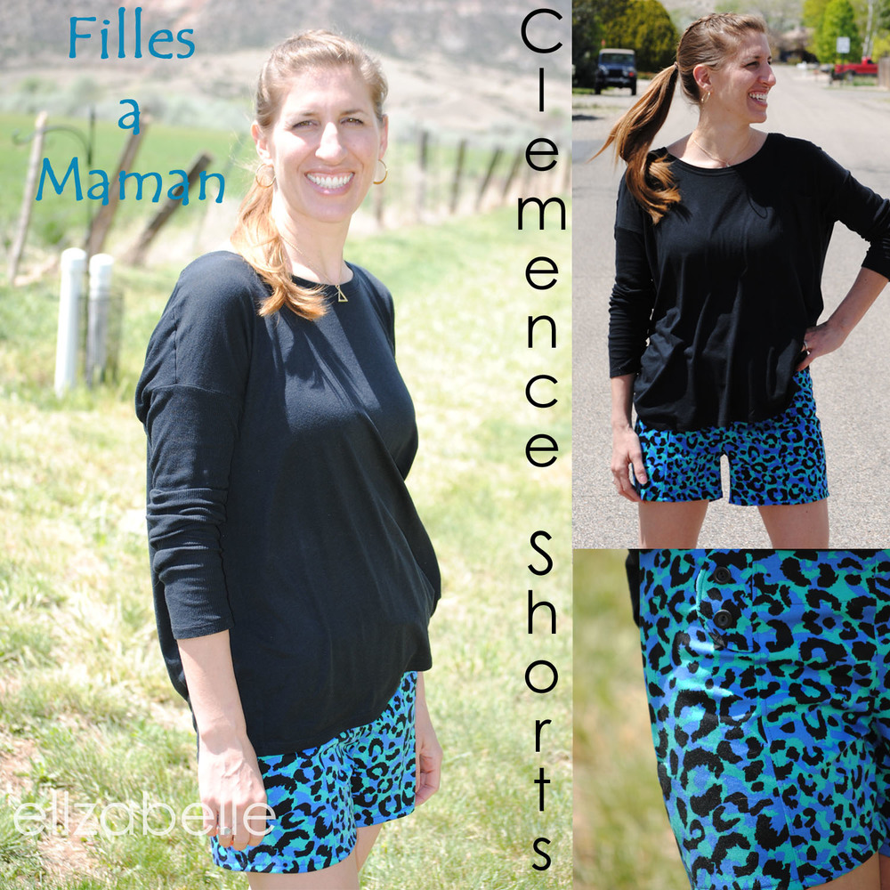 Women's Clemence Shorts by Filles a Maman- Pattern Revolution