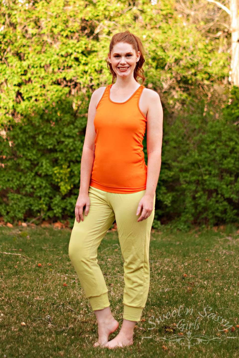 Jillian Tank and Sports Bra by GreenStyle Creations- Pattern Revolution