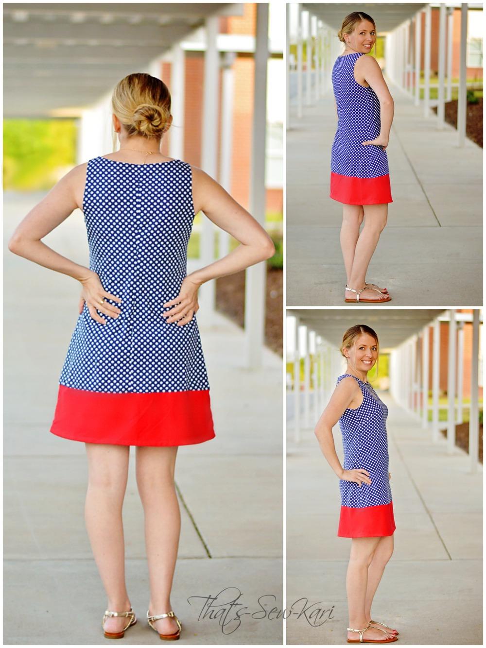 A-Line Shift Dress by Jocole — Pattern Revolution