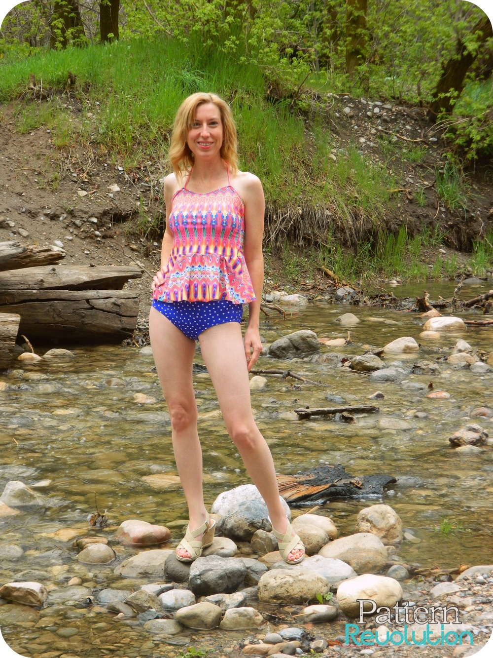 The Mykonos Tankini Collection from Golden Rippy- Pattern Revolution
