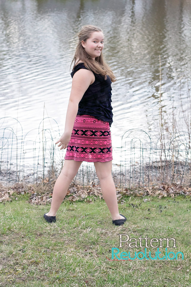 Ladies Perfect Petal Skirt from Little Lizard King- Pattern Revolution