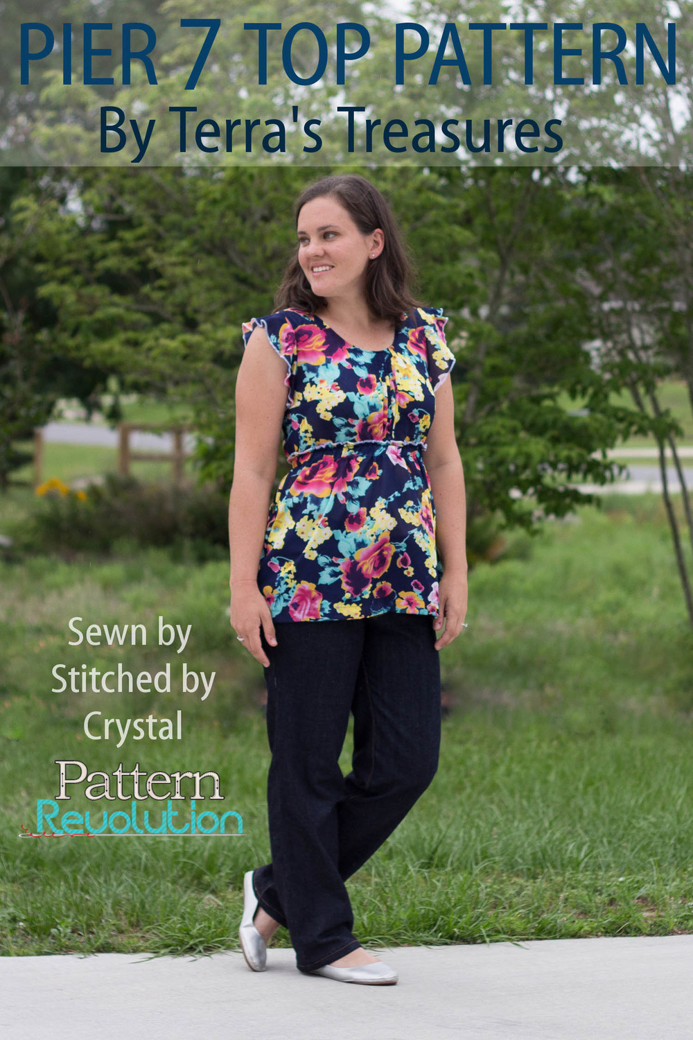 The Pier 7 Top by Terra's Treasures- Pattern Revolution